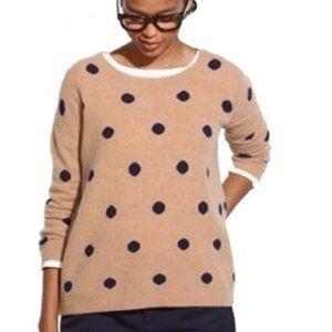 MADEWELL Polka Dot Crewneck Sweater S